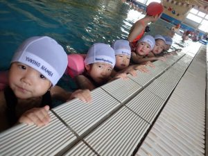 The 27th Swimming Class