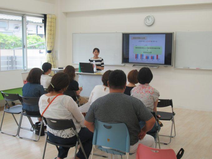 第二回公開見学会・学校説明会を開催しました。