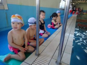 2月24日 プリスクール水泳教室