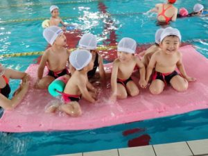 プリスクール水泳教室