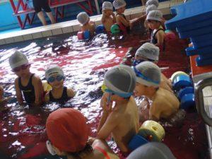 10月13日プリスクール水泳教室